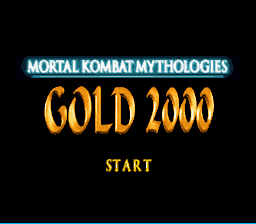 Mortal Kombat Mythologies: Gold 2000