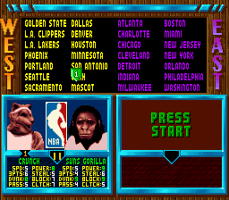 NBA Jam - Tournament Edition Roster Mod