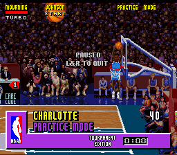 NBA Jam - Tournament Edition Screenthot 2