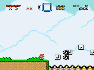 The New Super Mario World Screenshot 1
