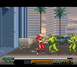The Ninja Warriors Screenshot 1