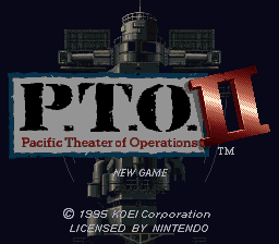 Pacific Theater of Operations II