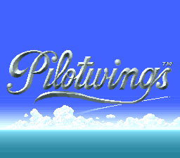 Pilotwings Title Screen