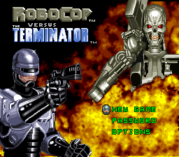 Play Robocop Versus The Terminator Online SNES Game Rom