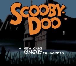 Scooby-Doo Mystery Title Screen