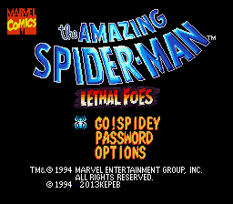 Spider-Man - Lethal Foes (English Translation)