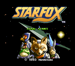 Star Fox Title Screen