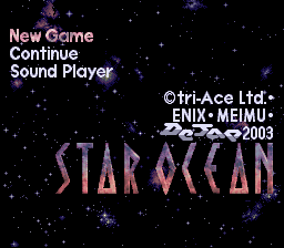 Star Ocean (English Translation)