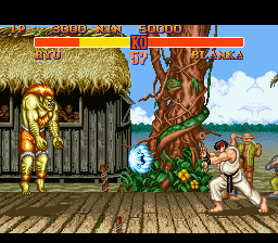 Street Fighter II - The World Warrior Screenshot 2