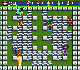 Super Bomberman 5 - Caravan Event Ban Screenshot 1
