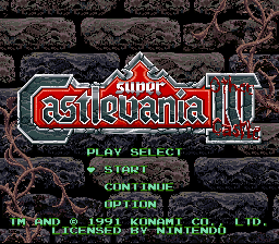Play <b>Super Castlevania IV - Other Castle</b> Online