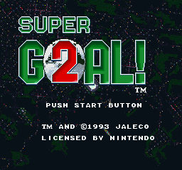 Play Super Goal! 2 online for free! - Super Nintendo game rom