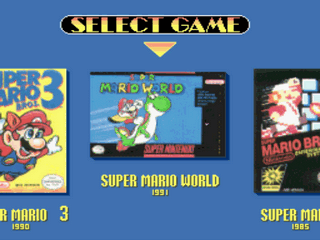 Super Mario All-Stars + Super Mario World Screenshot 1