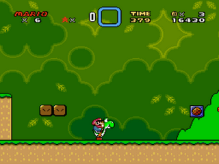 Super Mario All-Stars  Super Mario World Screenshot 3