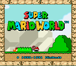 Super Mario World (lost levels prototype)