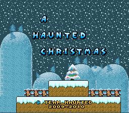 Super Mario World Christmas.Play Super Mario World A Haunted Christmas Online Snes Rom