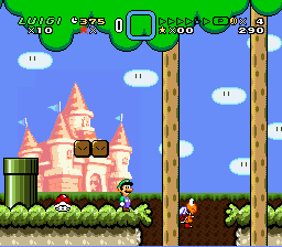 Super Mario World - Secret of the 7 Golden Statues Screenshot 2