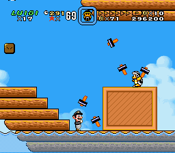 Super Mario World - Secret of the 7 Golden Statues Screenshot 3