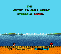 Super Mario World - The Quiet Island Quest