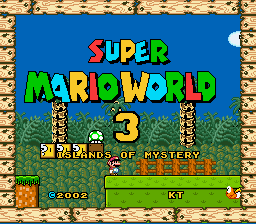 Super Mario World 3 - Islands of Mystery