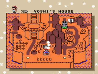 Super Mario World Advanced - Easy mode Screenshot 2