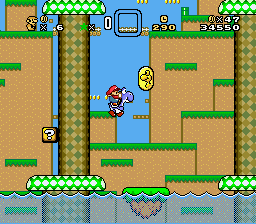 Super Mario World Deluxe - Graphics Edition Screenshot 2
