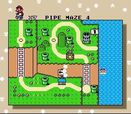 Super Mario World Master Quest 6 - The Adventure of Mario Screenthot 2