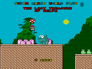 Super Mario World Plus 6 - The Lost Treasure of Kelpa (Demo 2) Title Screen