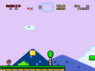 Super Mario World Plus 6 - The Lost Treasure of Kelpa (Demo 2) Screenthot 2