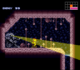 Super Metroid Cliffhanger