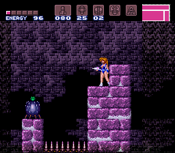 Super Metroid Justin Bailey Screenshot 1