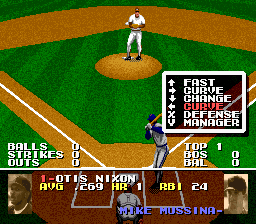 Tecmo Super Baseball Screenshot 1