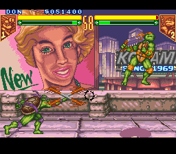Teenage Mutant Ninja Turtles - Tournament Fighters Screenshot 3