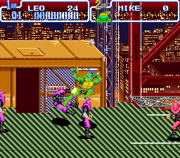Teenage Mutant Ninja Turtles IV - Turtles in Time Screenshot 2
