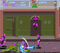 Teenage Mutant Ninja Turtles IV - Turtles in Time Screenshot 3