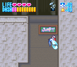 Tiny Toon Adventures - Buster Busts Loose! Screenshot 2