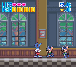 Tiny Toon Adventures - Buster Busts Loose! Screenshot 3