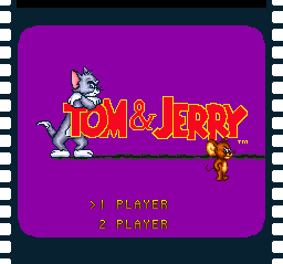 Tom & Jerry Title Screen