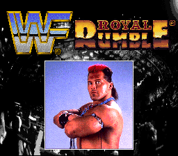 WWF Royal Rumble Title Screen