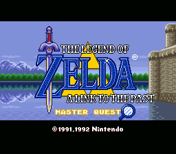 Zelda - A Link to the Past - Master Quest