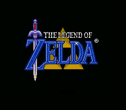 Zelda 3 - Goddess of Wisdom Title Screen