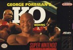 George Foreman K.O. Boxing Box Art Front