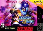Mega Man & Bass (English Translation) Box Art Front