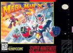 Mega Man X3 Box Art Front