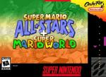 Super Mario All-Stars + Super Mario World Box Art Front