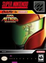 Super Metroid Redesign Boxart