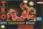 TKO Super Championship Boxing Box Art Front
