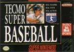 Tecmo Super Baseball Box Art Front