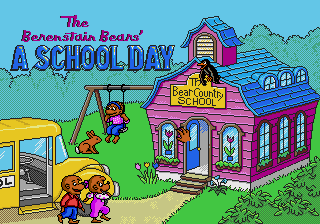 Berenstain Bears', The - A School Day (beta)