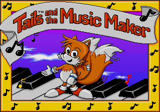 Play <b>Tails And The Music Maker</b> Online